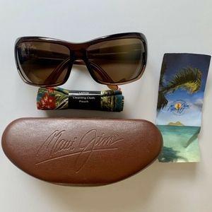 Maui Jim Palms Sunglasses Chocolate Fade MJ111-01